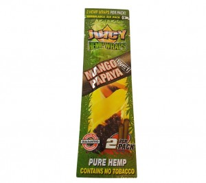Owijki konopne Juicy Jay's Hemp Wrap Mango Papaya